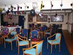 The Club House bar area