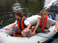Junior Watermanship 2009, Dinghy Task