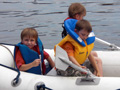 Junior Watermanship 2009, Dinghy Rowing